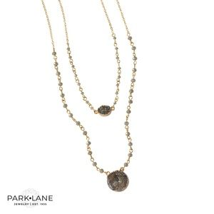 Park Lane Bluebell Necklace